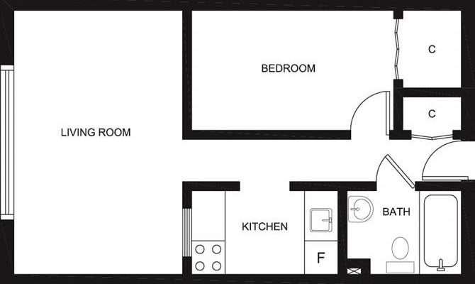 Bachelor Apartment Floor Plan Home Design