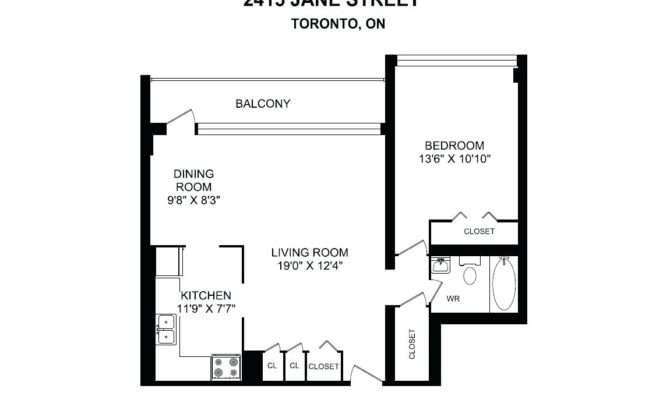 Bachelor Apartment Floor Plan Toronto Latest