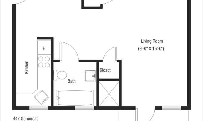 Bachelor Flat Floor Plans