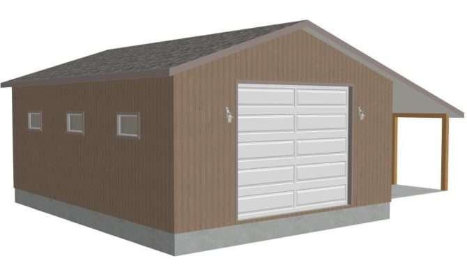 Bachini Detached Garage Renderings Sds Plans