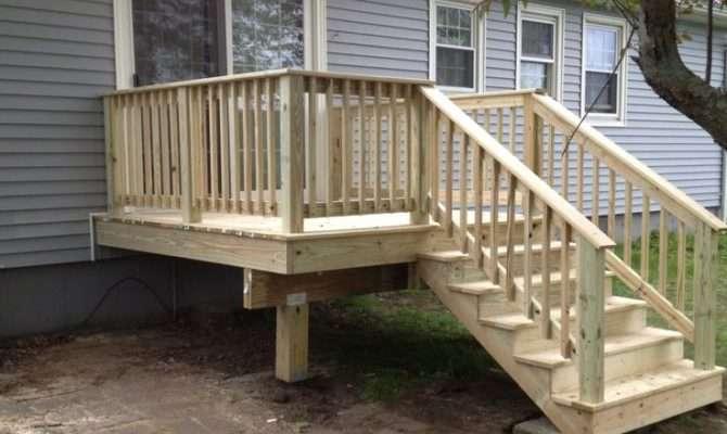 Back Deck Porches Decks Pinterest