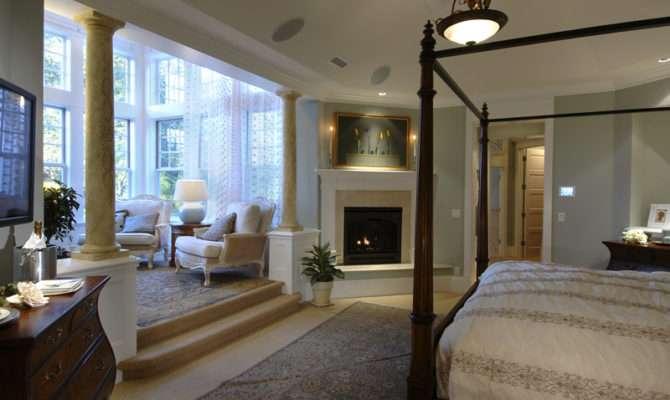 Back Master Bedroom Sitting Room Floor Plans