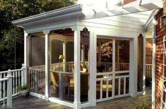 Back Various Porch Ideas