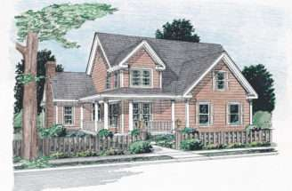 Backwoods Farmhouse Plan House Plans More
