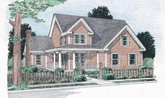 Backwoods Farmhouse Plan House Plans More