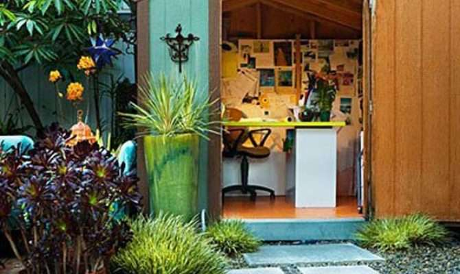 Backyard Shed Office Would Love Work