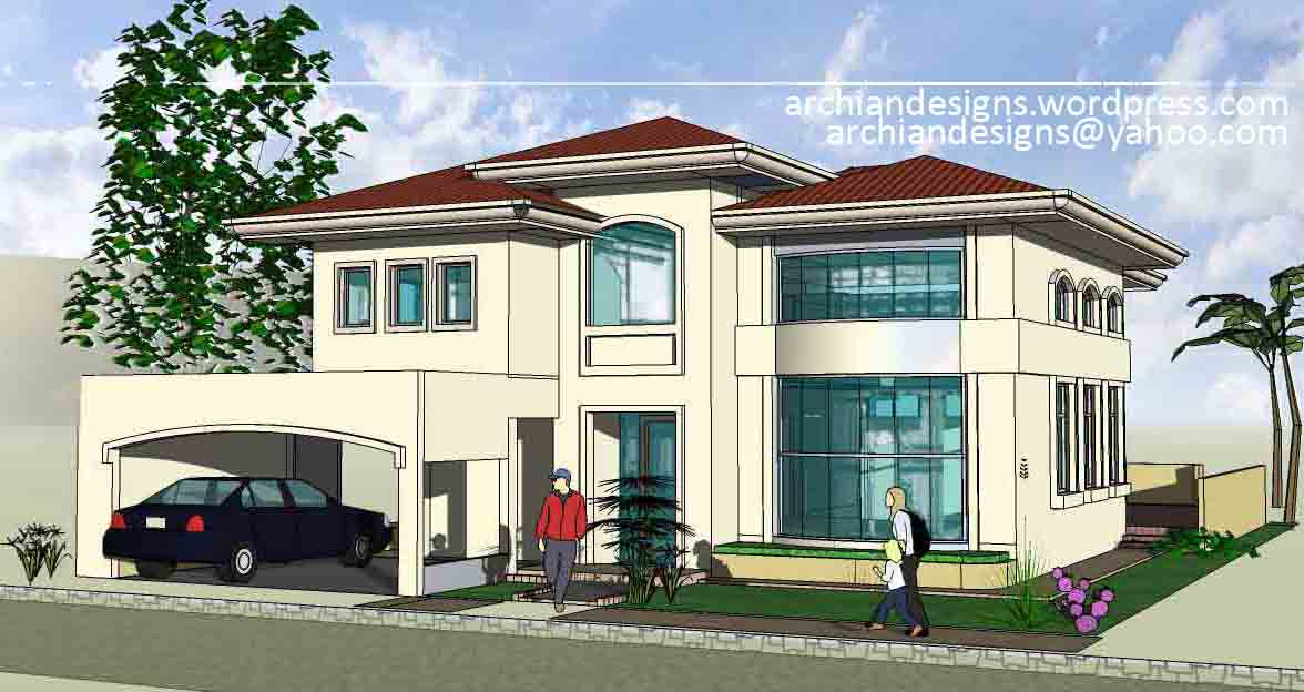 Bacolod House Design Greensville Residence Archian