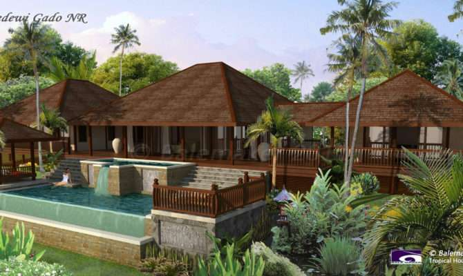 Balemaker Tropical Houses House Plans Builder
