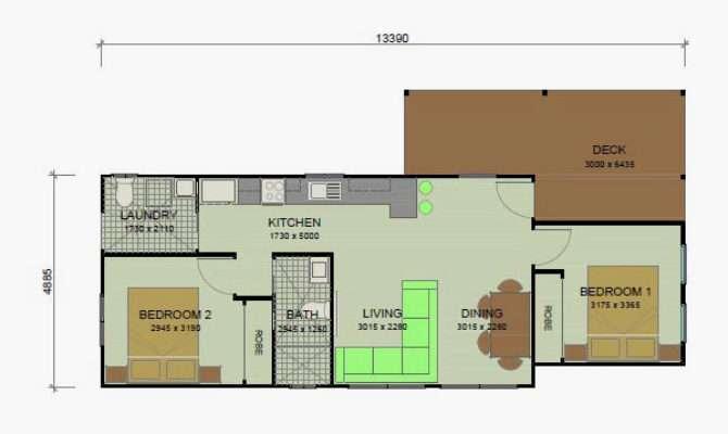 Banksia Granny Flat Floor Plans Bedroom