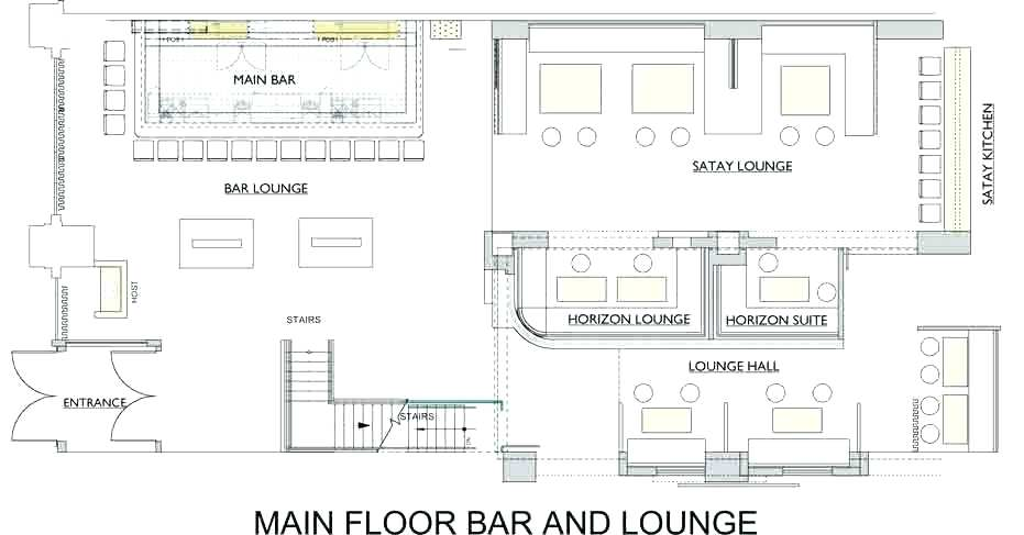 Bar Design Plans Layouts Home