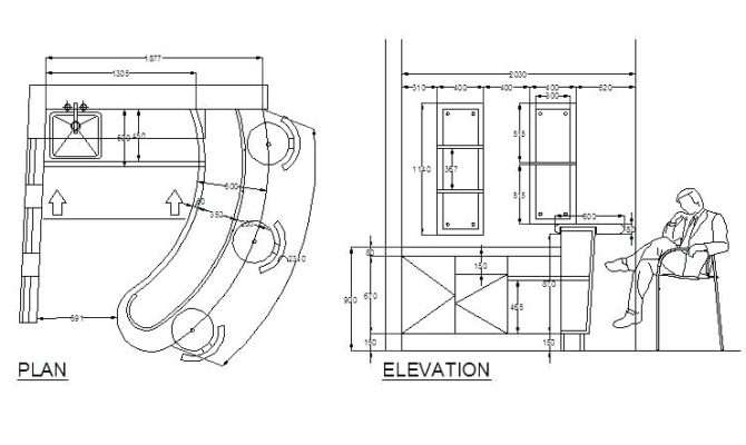 Bar Design Plans Shaped Wet Plan Details Basement