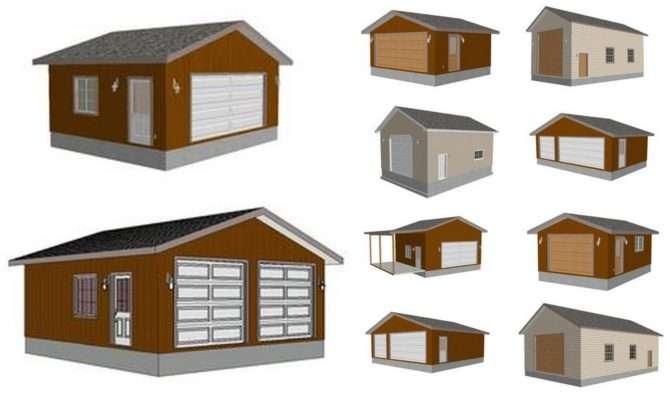 Barn Garage Plan Specials Sds Plans