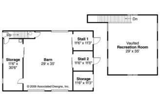 Barn Plan Floor