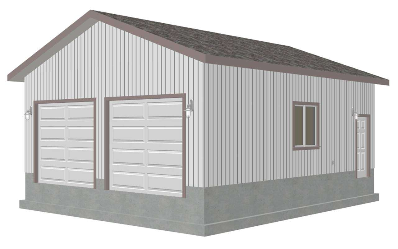 Barn Plans Garage Storage Building Blueprints Designs