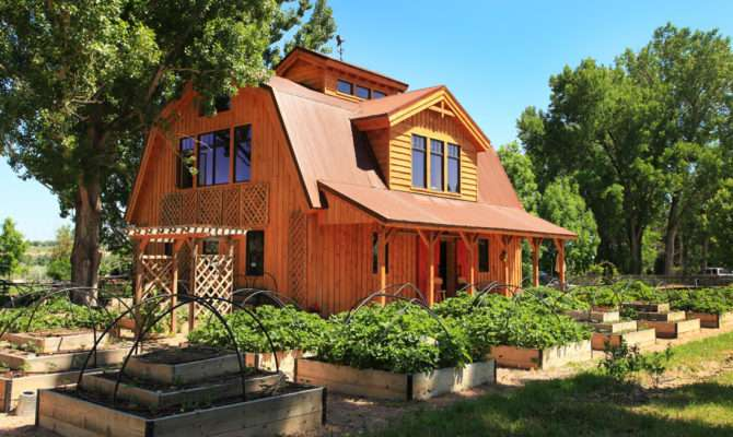 Barn Wood Home Great Plains Gambrel Project Lbr