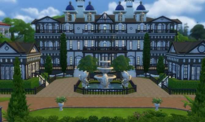 Barons Mansion Tomostergreen Tsr Sims Updates