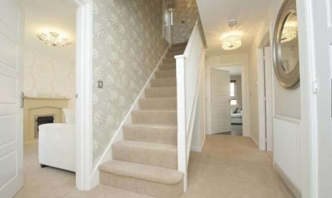 Barratt Homes Orchard Place Evesham Interior Designed Hallway