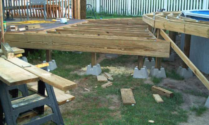 Barry Pool Deck Project