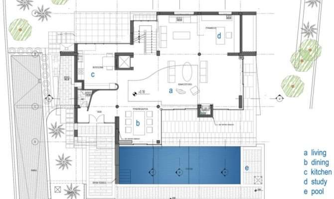 Based Innovative Architecture Contemporary Home Floor Layout Plan