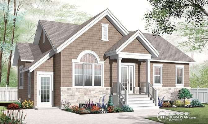 Basement Apartment Home Designs Drummond House Plans