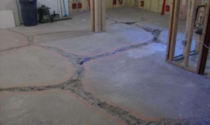 Basement Floor Fill Level Concrete Paving Contractor Talk