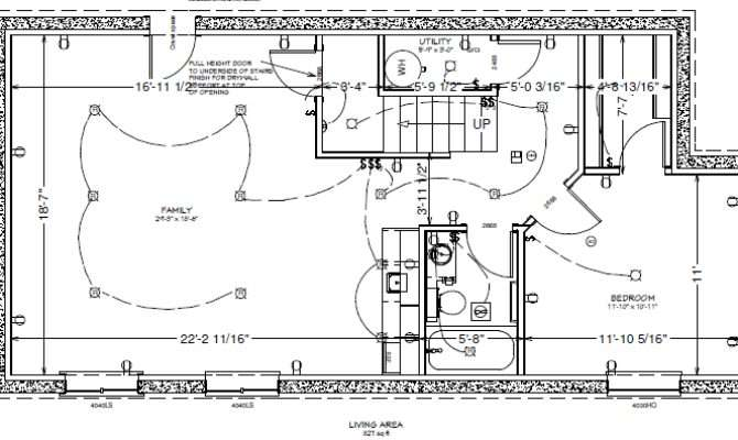 Basement Floor Plan Craftsman Finish Colorado