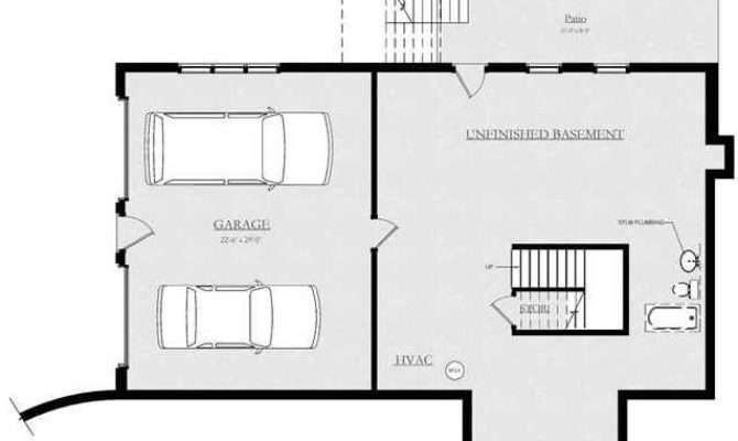Basement Under Garage Plans Bing