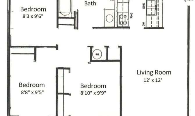 Basham Rentals River Bedroom Floor Plans