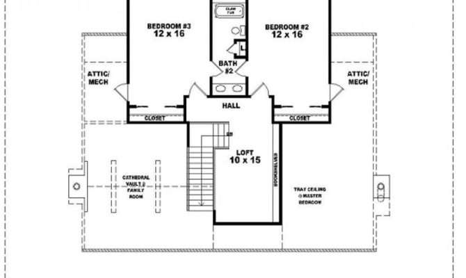 Bath Country Style House Plan Plans Floor Home