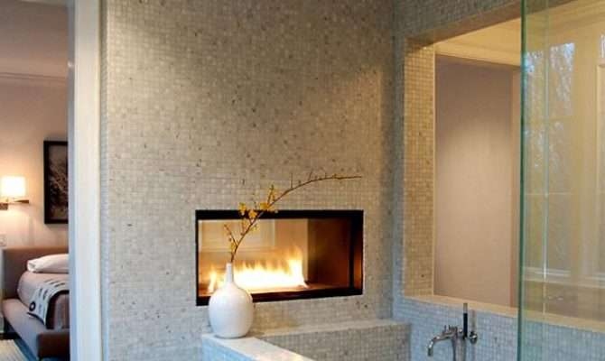 Bathroom Fireplaces Diy