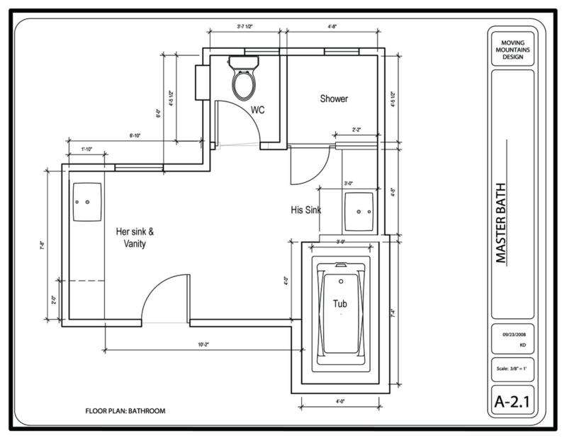 Bathroom Floor Plan Ideas Bedroom