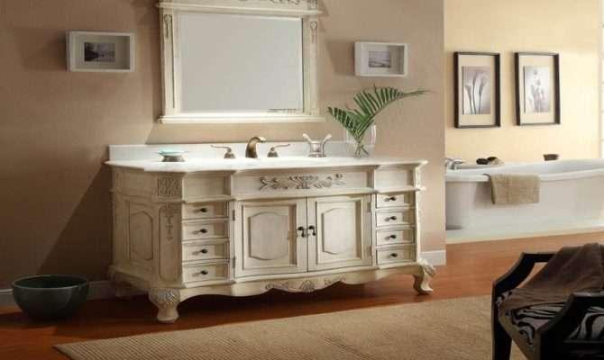 Bathroom French Country Vanity Elegant