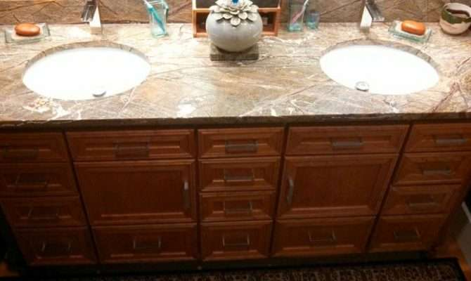 Bathroom His Her Sink Our Completed Work Pinterest Sinks