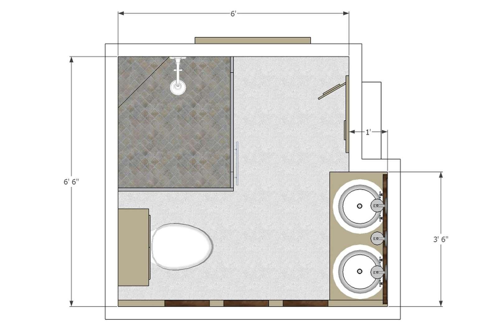 Bathroom Plan Layout Sharing Few Layouts Which Got