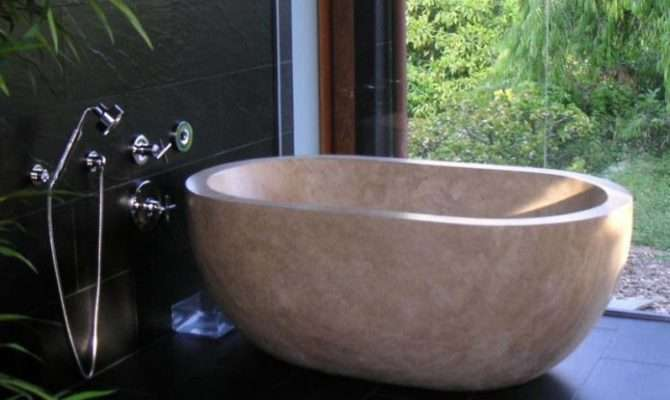 Bathtubs Travertine Soaking Tubs Custom Bath