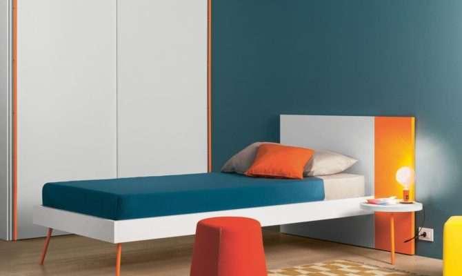 Battistella Ambo Single Bed Contemporary Beds