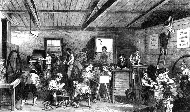 Bbc Primary History Victorian Britain Children School
