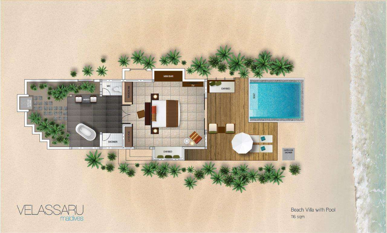 Beach Bungalow Floor Plans