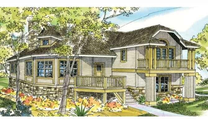 Beach Cottage House Plans Pilings Floor