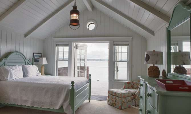 Beach Cottage Style Bedroom Seattle