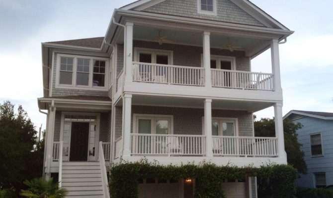 Beach Home Plan Great Porches