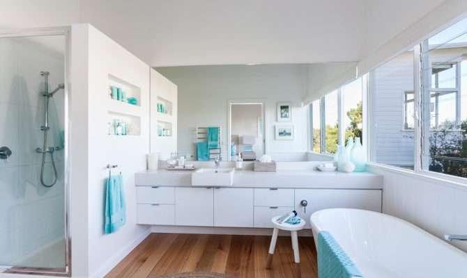 Beach House Bathroom Shower