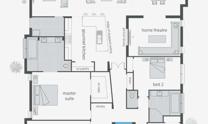 Beach House Blueprints Beautiful Contemporary