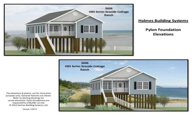 Beach House Floor Plans Pilings Raised