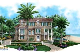 Beach House Plan Home Plans Floor Weber