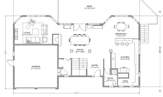 Beach House Plan Lake Cape Cod