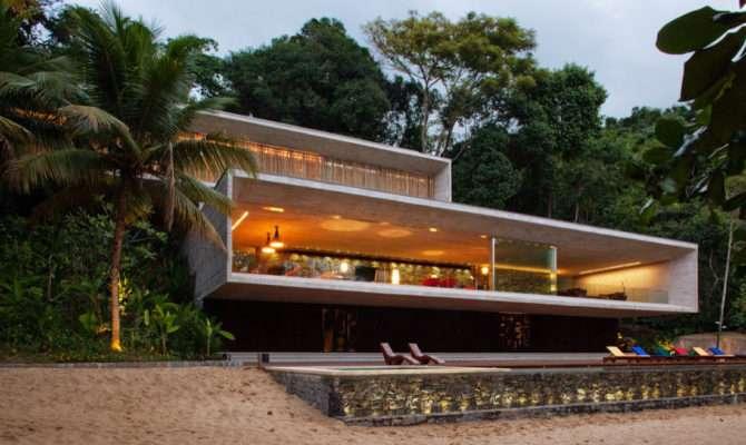 Beach House Plans Modern Luxury Plan