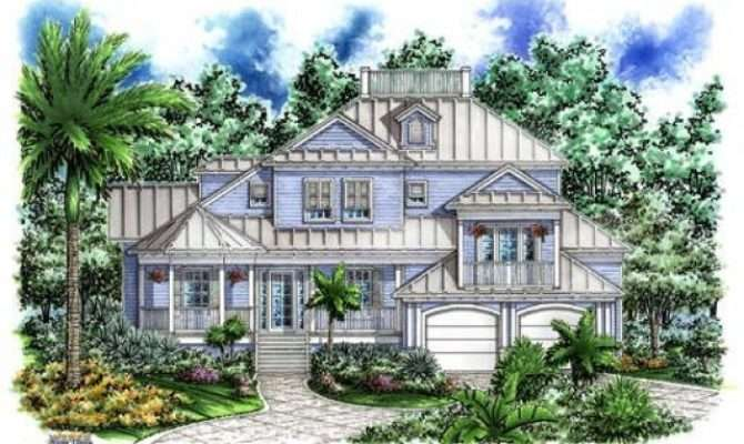Beach House Plans Pilings Over