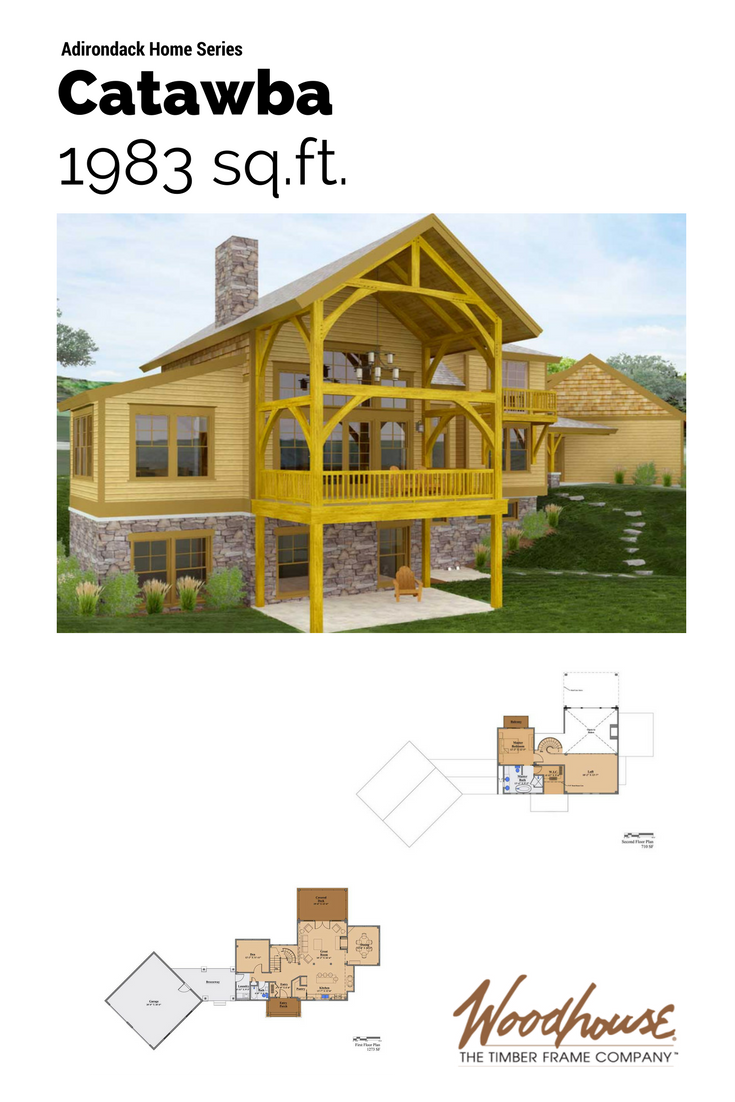 Beautiful Adirondack Style Home Plans Slide