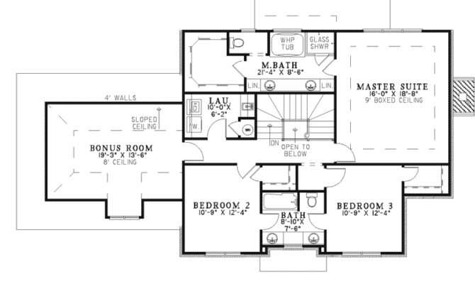 Beautiful American House Plans Colonial